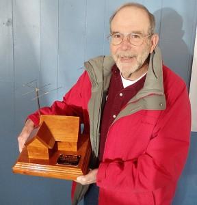 Jim AI4WL Receiving Award